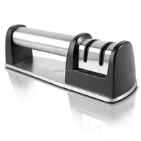 Knife Sharpener For Straight And Serrated