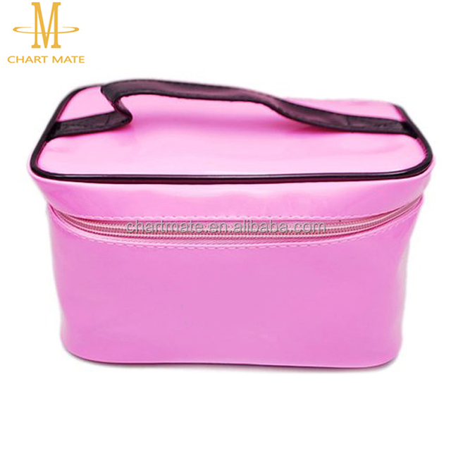 Hot promotional chart mate women Pu makeup cosmetic bag