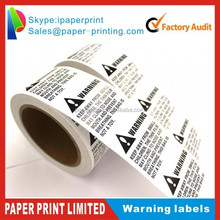 RISK OF SUFFOCATION FBA warning label 1500+ ERROR PRINT LABELS