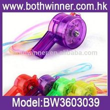 glow in the dark whistles ,MW012 party whistle