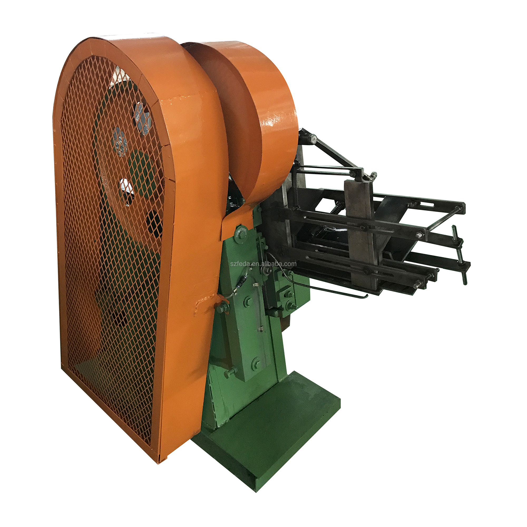 High speed vertical thread rolling machine vertical flat dies thread making machine