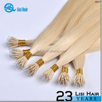 First Selling Golden Supplier Top Quality Remy Hair Keratin Glue No Tangle hair extension real hair bondings