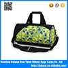 Wholesale big size custom oem hot sale nylon sport fashion handle gym bag duffel bag for travelling with shoes compartment