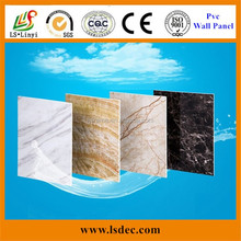 Cheap high glossy 3d brick wall panel decoration 4x8 pvc board in china