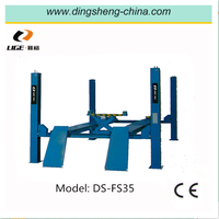 Stabled China auto 4 post car lift machine for sale