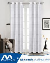 high-grade fancy style living room window curtain jacquard panel