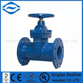 Stainless Steel Renewable Seat Rings with Handwheel 6 inch water gate valve