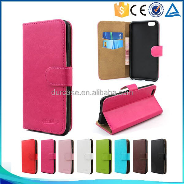 Simple Designs Wallet Style Flip Stand Leather Case for ZTE U819