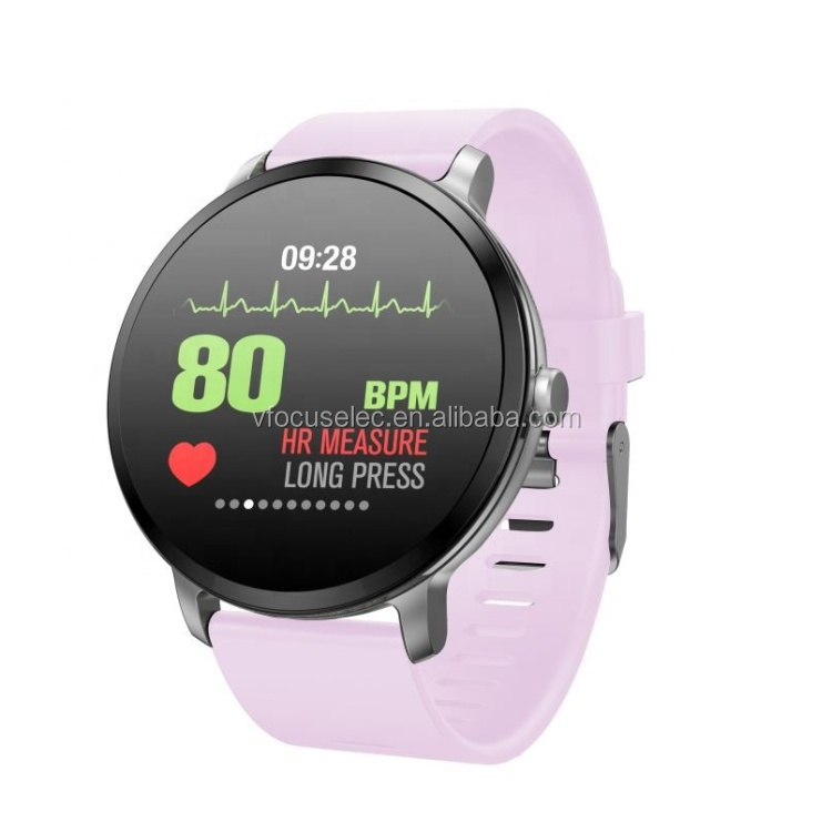 1.3 inch color screen smart bracelet heart rate and blood pressure monitoring smartwatch v11 fashion smart watch