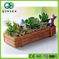 multipurpose wooden garden storage box