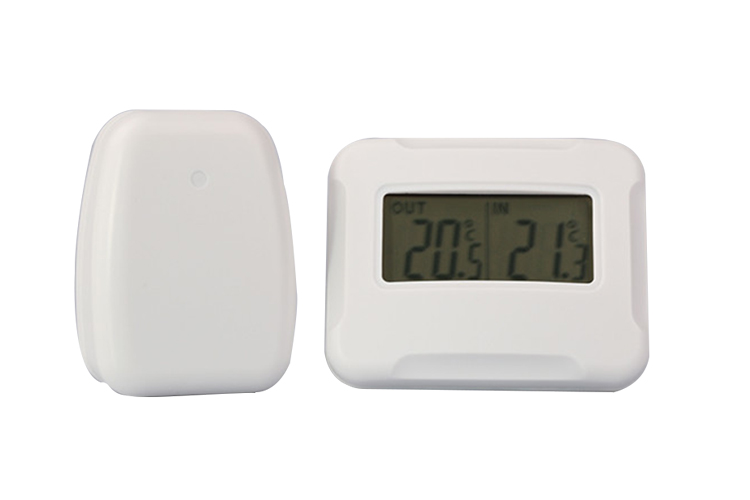 Wireless thermometer with hygrometer