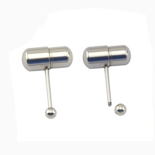 cheap wholesale body piercing jewelry magnetic vibrating pill slave tongue rings