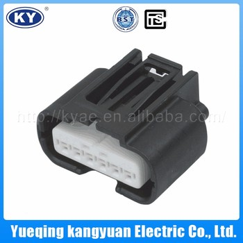Promotion Wholesale Car 6 Pin Electrical Connector PBT GF20