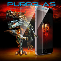 Hot new products 2016 high quality tempered glass screen protector for iPhone 6 with cleaning kit