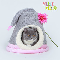 fur fabric pet house dog house cat house