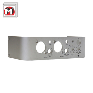 Quality guaranteed highly processed products 7005 anodized cnc aluminium profile machining service