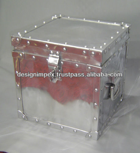 Aluminum Decorative Box, metal box, trunk box, storage box, Tool Box, Utility Box, Cloth box for Home, Office, Hotel, Restaurant