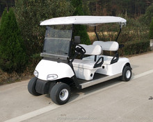 4 seater electric sightseeing cars golf vehicles with high quality