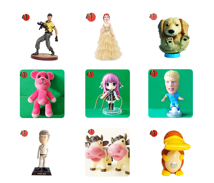 Europe Vedio Game Characters 3d cartoon custom action figure