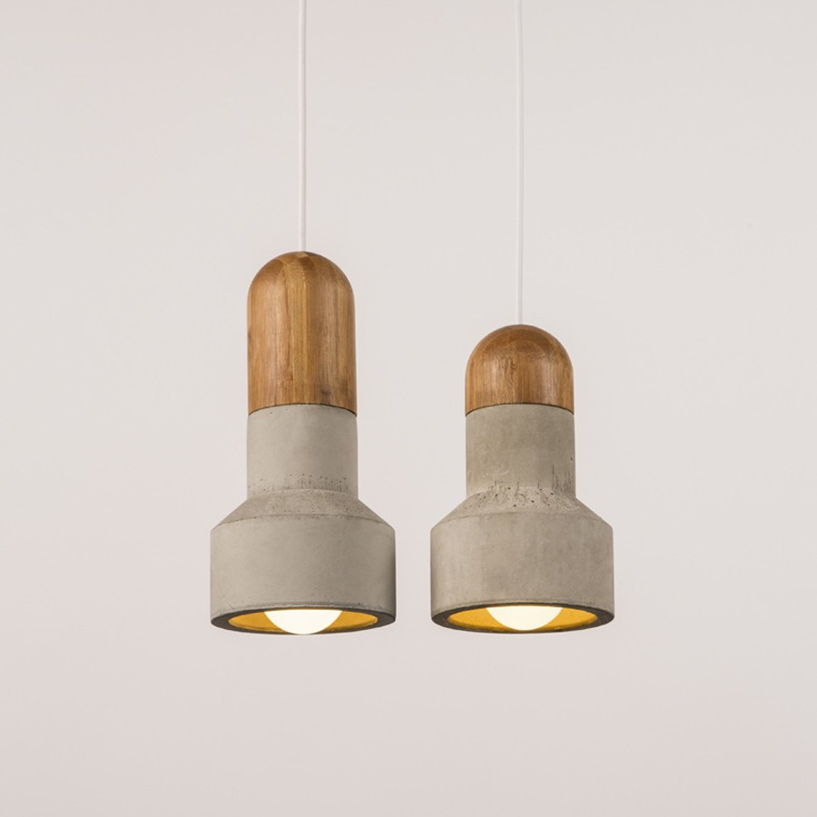 QIE Pendant lamp Chandelier Pendant Lights Loft cement pendant lamp concrete light