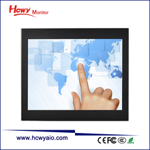 "KeeTouch 15"" open frame SAW type vertical touch screen monitor lcd"
