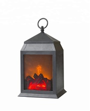 2018 New Arrive Livelike Indoor and Outdoor Decoration Portable Battery Operated Dancing Moving LED Fireplace Flame Lantern