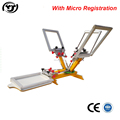 Micro registration 4 color printing machine