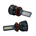 Auto Kits H11 9005 9006 H4 12V 24V Fan Bulb Canbus Super Slim H7 LED Car Headlight