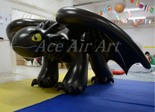 How to Train Your Dragon Inflatable Cartoon Lugia /Inflatable Toothless Dragon For Advertising