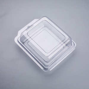 Disposable plastic frozen food meat blister packaging packing box