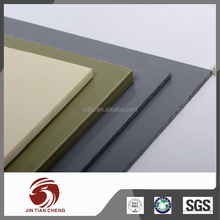 Rigid chemical resistant can bending pvc board
