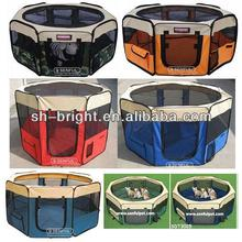 Durable Pet Tent/Playpen/Dog Cage with Strong Steel Frame Lightweight and Portable