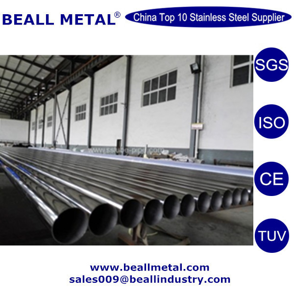 High Quality ERW/EFW/Spiral Welded SUS304 Stainless Steel Pipe/Tube