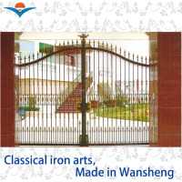 2016 garden arch wrought iron gate