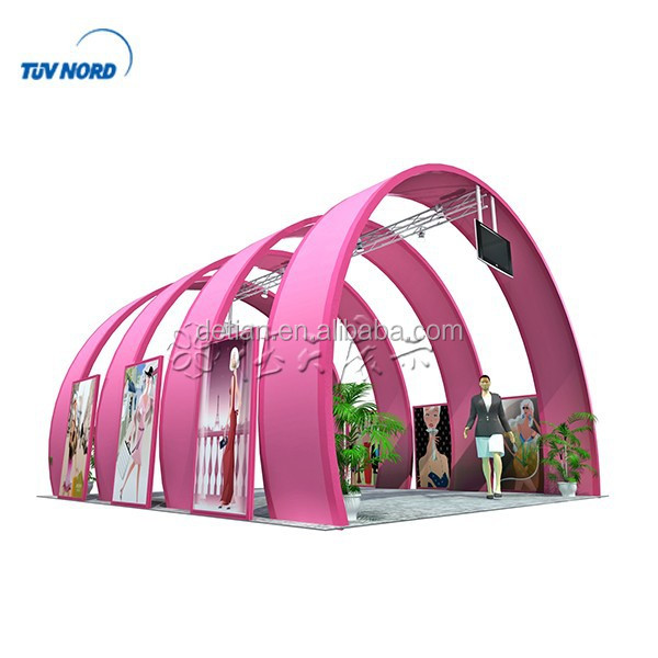 China custom-made 20' x 20' Exhibition Stand designer and builder