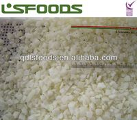 Chinese new crop frozen IQF onion dices Grade A