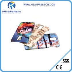 DIY 3D blank sublimation cell phone case for S5