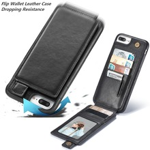 Custom Logo Cell Mobile phone cellphone accessories Cover Cases smartphone Flip Rugged wallet leather case for iphone