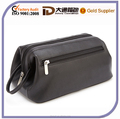 High Quality Waterproof Mens PU leather Toiletry Bags