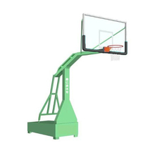 Custom movable indoor basketball fiber glass backboard system with stand