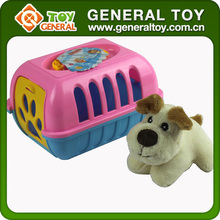 Wholesale Plastic Houses With Mini Plush Dog