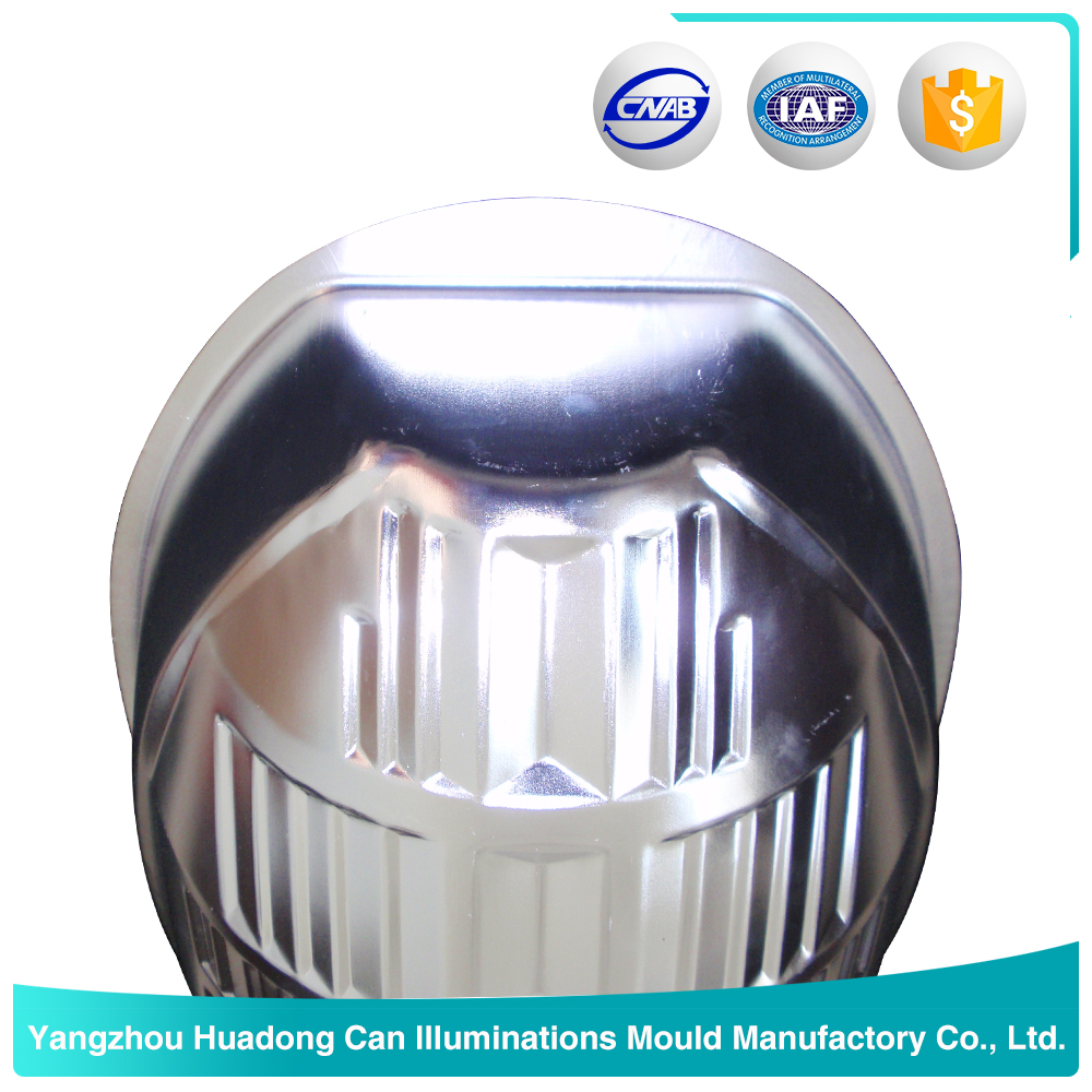 High efficiency outdoor metal bulb light cover