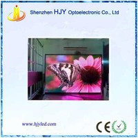 high definition P5 indoor media advertising screen