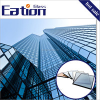 Eation Tempered Tinted Glass/Coated Glass Building Materials