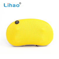 LIHAO Trade Assurance High Quality Leisure Rest Massage Neck Massaging Pillow