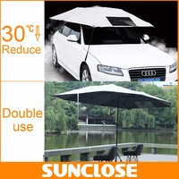 SUNCLOSE open trailer cover terrace umbrella heavy duty motorcycle cover