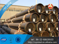 chrome steel tube ERW 7 to 18 Inch Galvanized Pipe Tubes