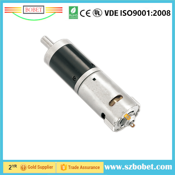 42mm dc micro motor 6-900rpm 0.2A 12v 24v electric reductie gear box motor match encoder gear motor