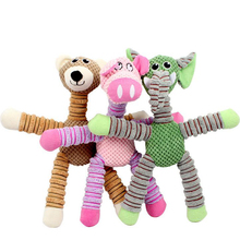 Free Shipping Wholesale Plush Dogs Cats Squeaky Chew Stuffed Toys