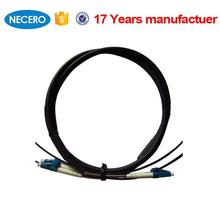 20meter LC-LC Duplex MM 50/125 outdoor fiber patch cord for Camboida/ Kampuchea cabling systems